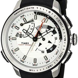 Timex-Hombre-tw2p44600dh-inteligente-cuarzo-Yacht-Racer-Reloj-con-Negro-Band-0