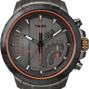 641b49d94aeb Timex T2P273D7 – Reloj analógico de cuarzo para hombre con correa de acero  inoxidable