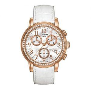 Tissot-0-Reloj-de-cuarzo-para-mujer-con-correa-de-cuero-color-blanco-0