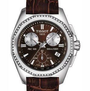 Tissot-T22141611-Reloj-para-hombres-correa-de-cuero-color-marrn-0
