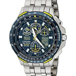 Titanium-Skyhawk-AT-Blue-Angels-Multi-Band-Atomic-Eco-Drive-Flight-Chronograph-0