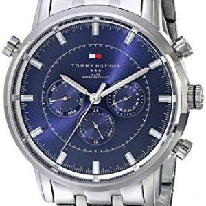 Tomla-1790876-Reloj-de-cuarzo-para-hombre-correa-de-acero-inoxidable-color-plateado-0
