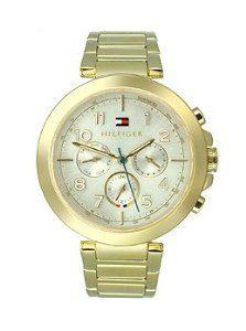 Tommy-Hilfiger-1781450-Reloj-para-mujeres-correa-de-acero-inoxidable-color-dorado-0