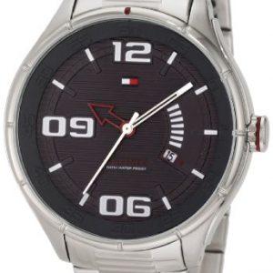Tommy-Hilfiger-1790805-Reloj-de-pulsera-hombre-acero-inoxidable-color-plateado-0