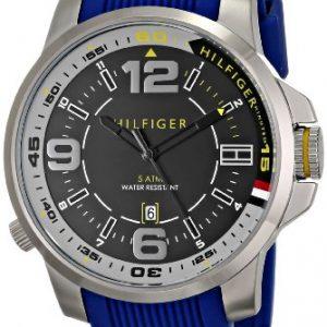 Tommy-Hilfiger-Hombre-1791010-Acero-Inoxidable-Reloj-0