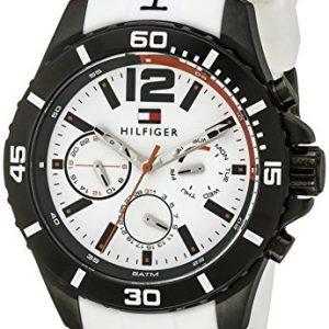 Tommy-Hilfiger-Hombre-1791146-Cool-Sport-analgico-pantalla-Cuarzo-Blanco-reloj-0