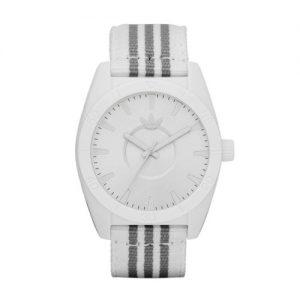 adidas-Originals-ADH2660-Reloj-analgico-de-cuarzo-para-hombre-con-correa-de-tela-color-blanco-0